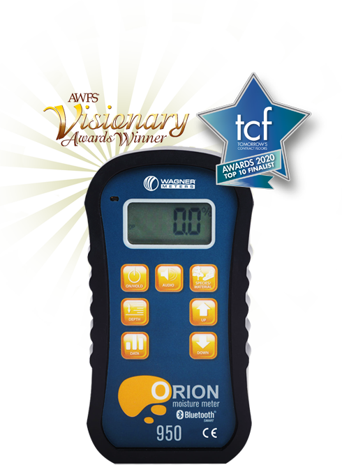 Accurate Moisture Meter - Orion 950