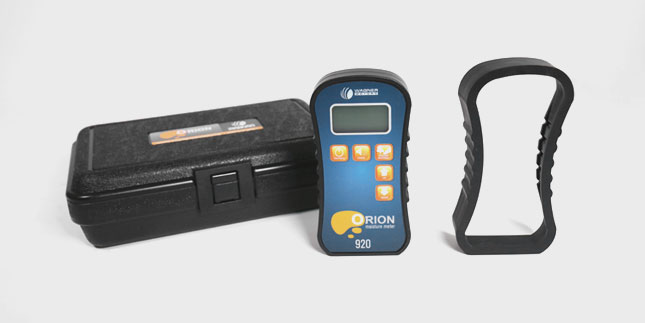 Protect the Orion moisture meters with the protective rubber boot