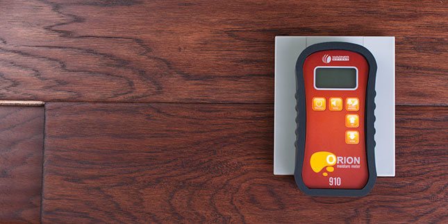 Easily calibrate the Orion moisture meters with on-demand calibration to accurately measure moisture