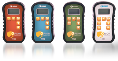 The Orion Series has 5 different moisture meters to choose from