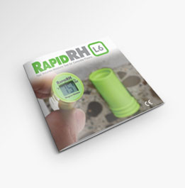Learn how to use the Rapid RH L6 for concrete moisture testing