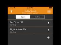 DataMaster 4.0/5.0 App Screen Shot