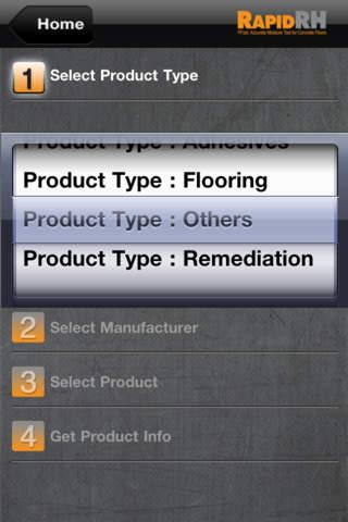 RHspec app screenshot enlarged