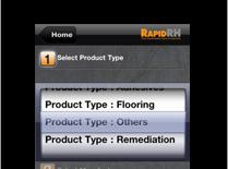 RHspec app screenshot