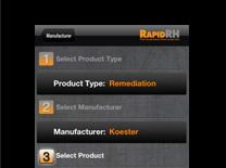 RHspec app screenshot 2