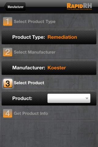 RHspec app screenshot enlarged 2