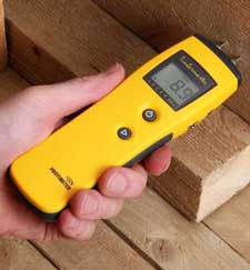 what is a pin-style moisture meter