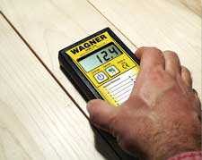 Wagner Meters MMC220 Measuring Wood Flooring