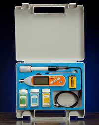 Rapid RH pH Meter
