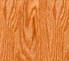Natural Polished Red Oak Hardwood Floor