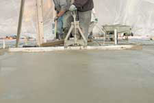 Workers Pouring Concrete