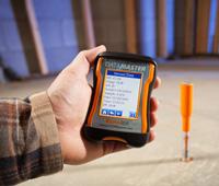 DataMaster & Bluetooth Reader Concrete Moisture