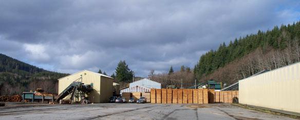Allen Logging Companys Mill