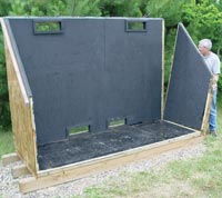 Building Solar Kiln