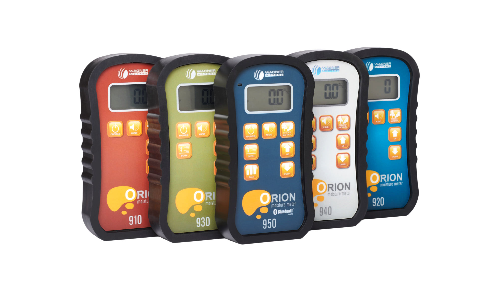 Orion line of moisture meters