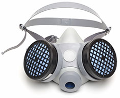 Respirator for Wood Flooring
