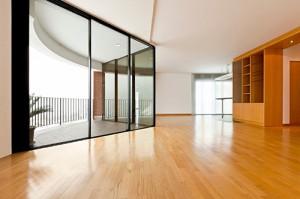 Hardwood Floor in Apartment