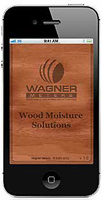 Wagner Meters' Wood H2O App