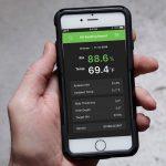 Datamaster Rapid RH L6 app for concrete moisture testing