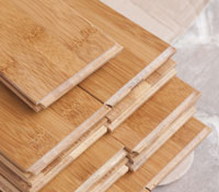 Bamboo flooring acclimating to it's environment