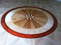 Beautiful Circular Woodwork Floor