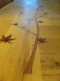 Decorative Hardwood Floor