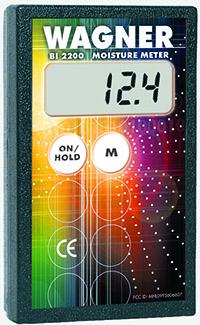 Wagner Meters' BI2200 Moisture Meter