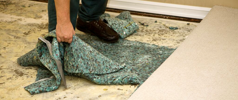 Water-Soaked Carpet Pad