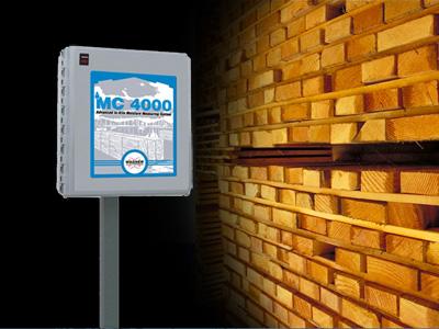 MC4000 In-kiln Moiature Measurement