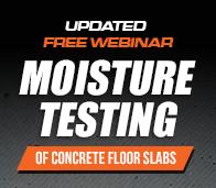 Concrete Moisture Webinar