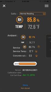 Full View of DataMaster App
