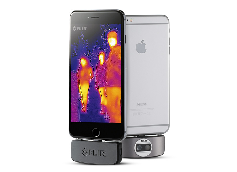 FLIR ONE™ Thermal Imaging Camera Attachment for iOS
