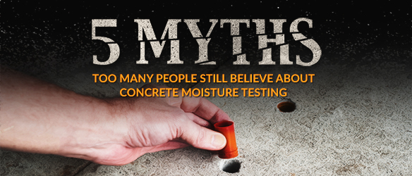 5 myths concrete testing