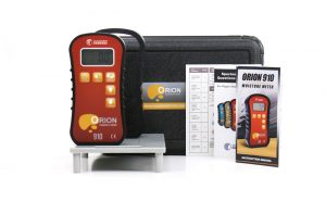 Orion 910 Moisture Meter with Plastic Case and Calibrator Platform