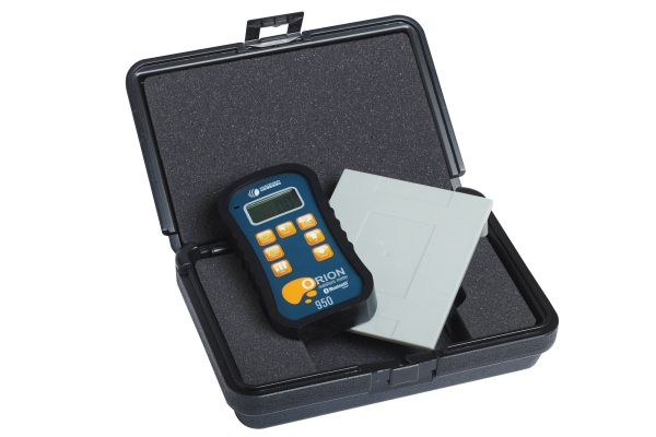 Orion 950 Moisture Meter with Plastic Case and Calibrator Platform