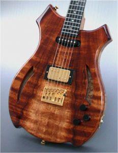 Wagner Meters Wood Shop Custom Guitar