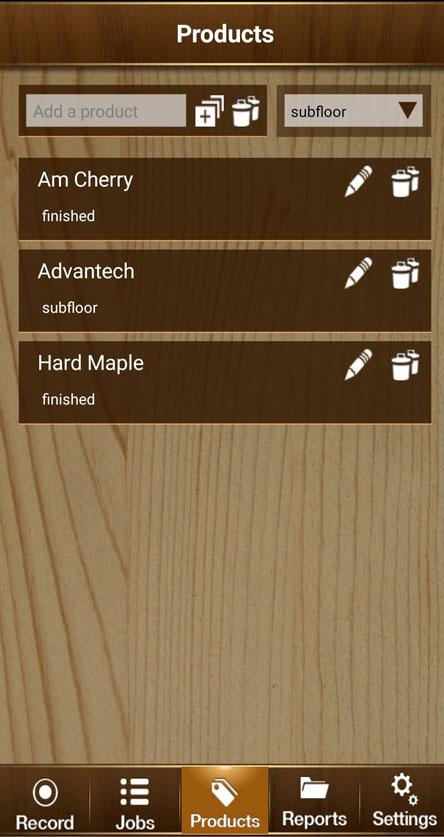 Floorsmart app screenshot enlarged 3