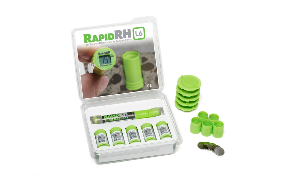 Rapid RH L6 5 pack with total reader