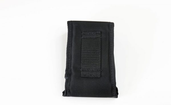 ballistic-style belt-loop holder back side