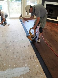 Installing Engineered Hardwood Floors