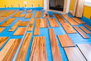 float hardwood floor installation