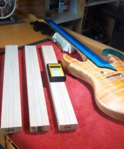 wood moisture meter testing guitar wood
