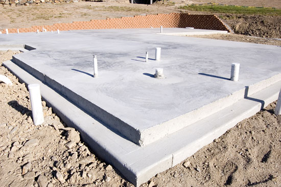 how to determine concrete slab thickness