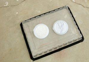 calcium chloride moisture test