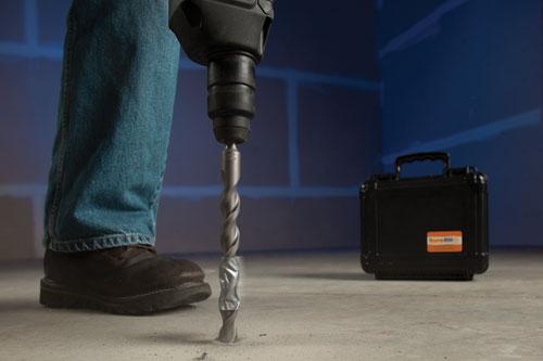 Rapid RH L6 concrete moisture testing