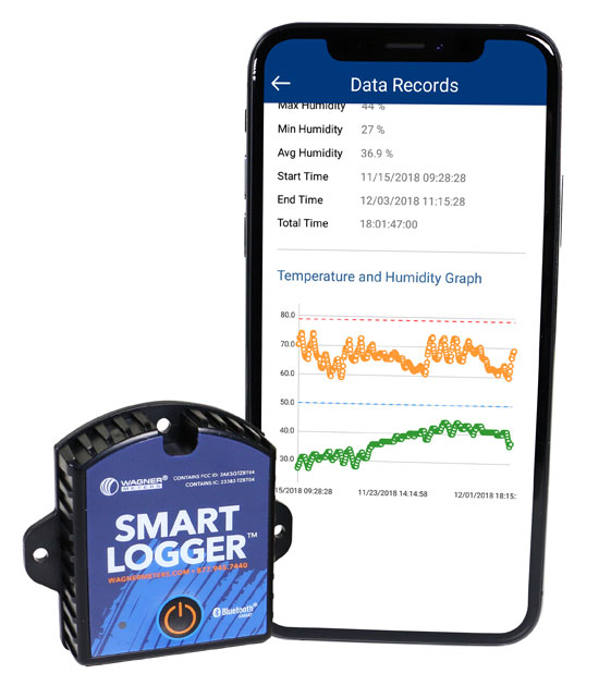 Smart Logger with smart app
