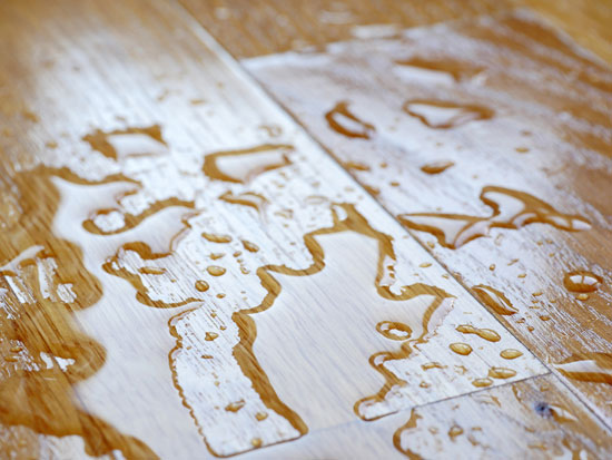 wood absorbs moisture and it expands
