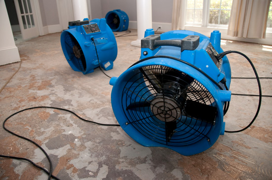 Industrial Size Fan for Drying Floors